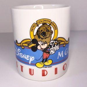 Vintage Disney MGM Studio Souvenir Coffee Mug